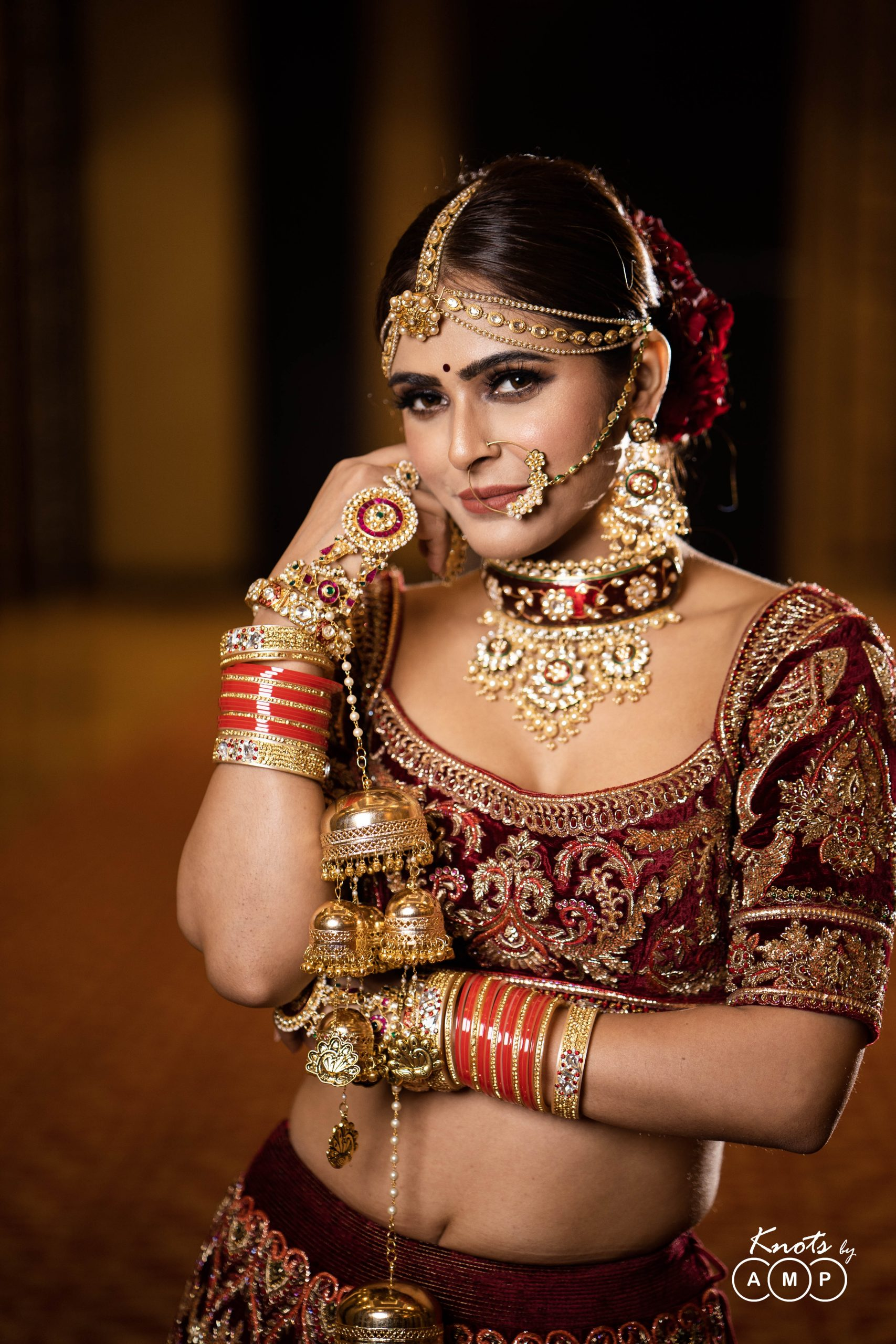 Actress Madhurima Tuli in Maathapatti by Shobha Shringar Jewellers -01