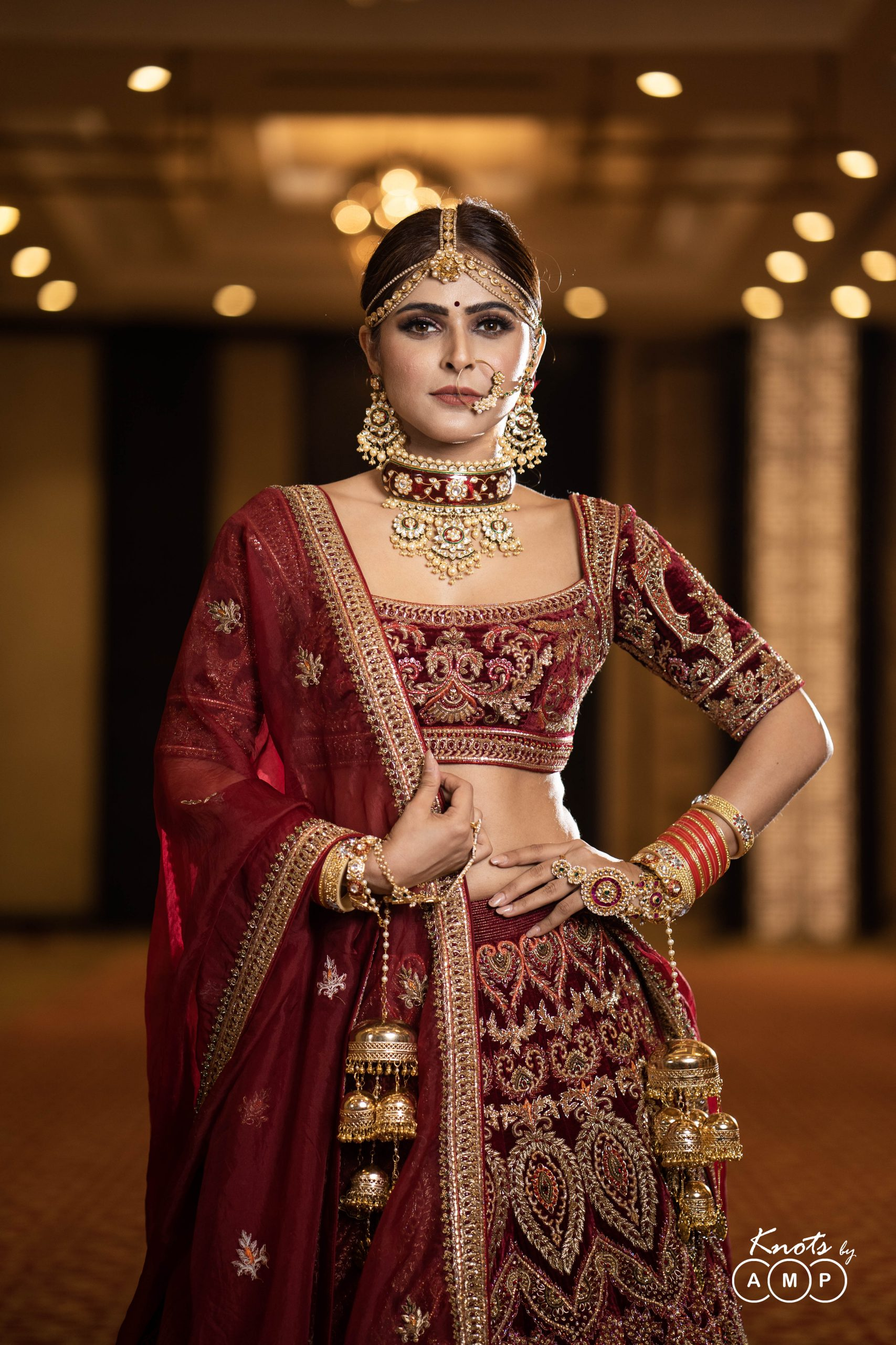 Actress Madhurima Tuli in Maathapatti by Shobha Shringar Jewellers -06