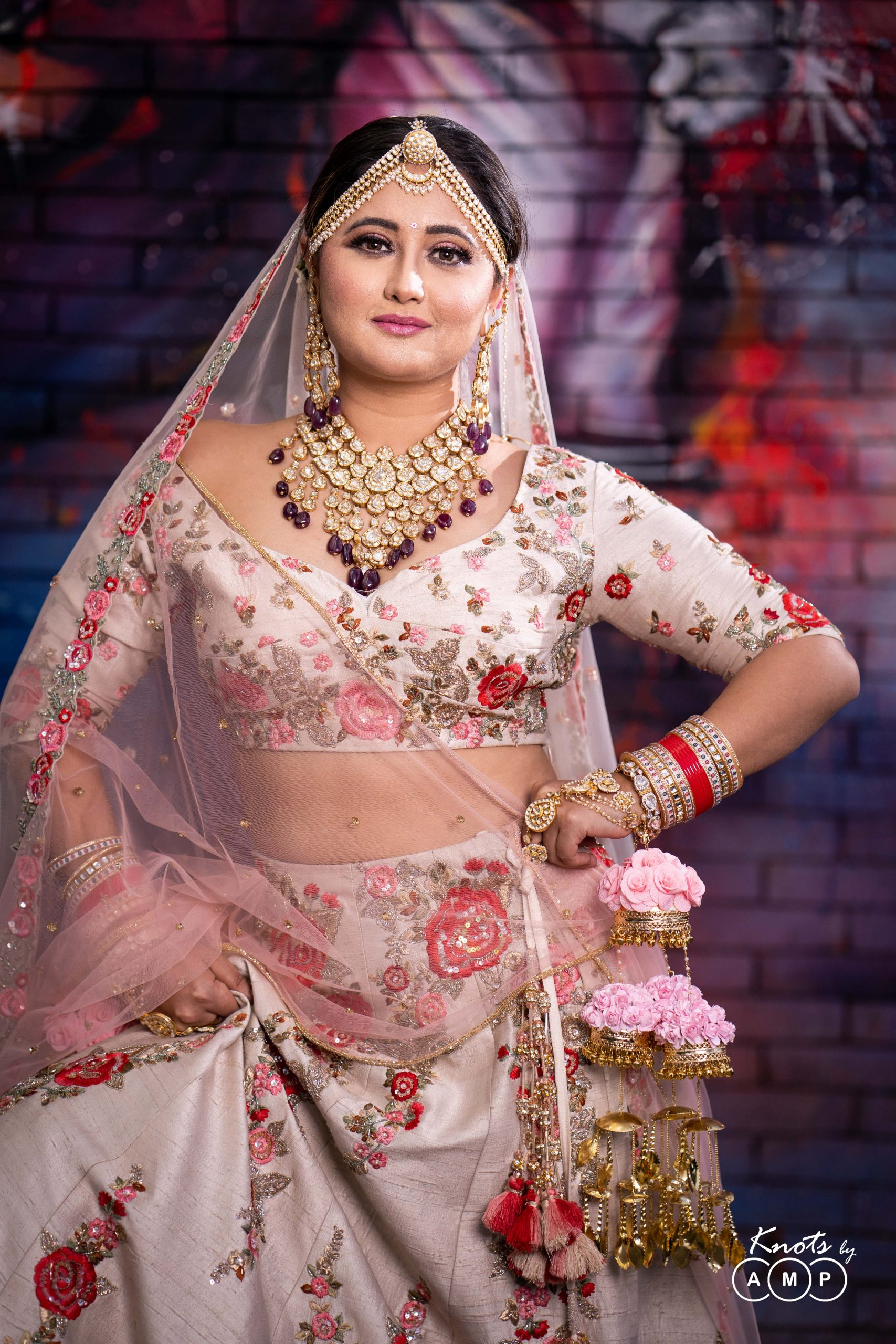 Actress Rashami Desai in Maathapatti by Shobha Shringar Jewellers -07