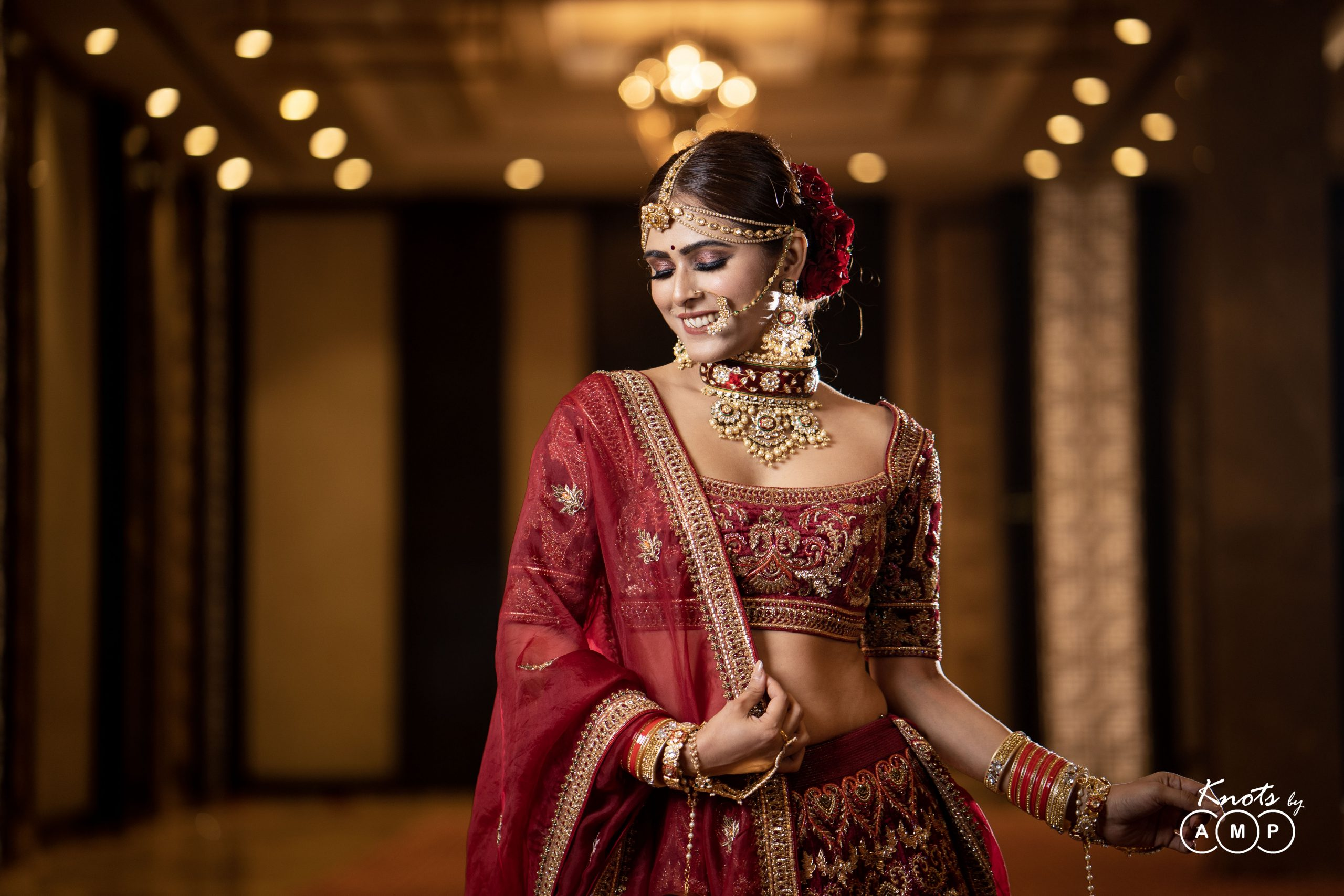 Actress Madhurima Tuli in Maathapatti by Shobha Shringar Jewellers -07